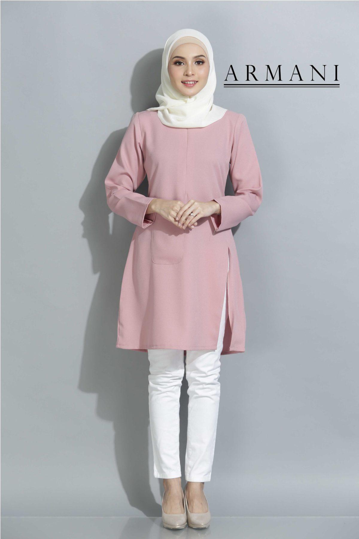 Armani Dusty Pink