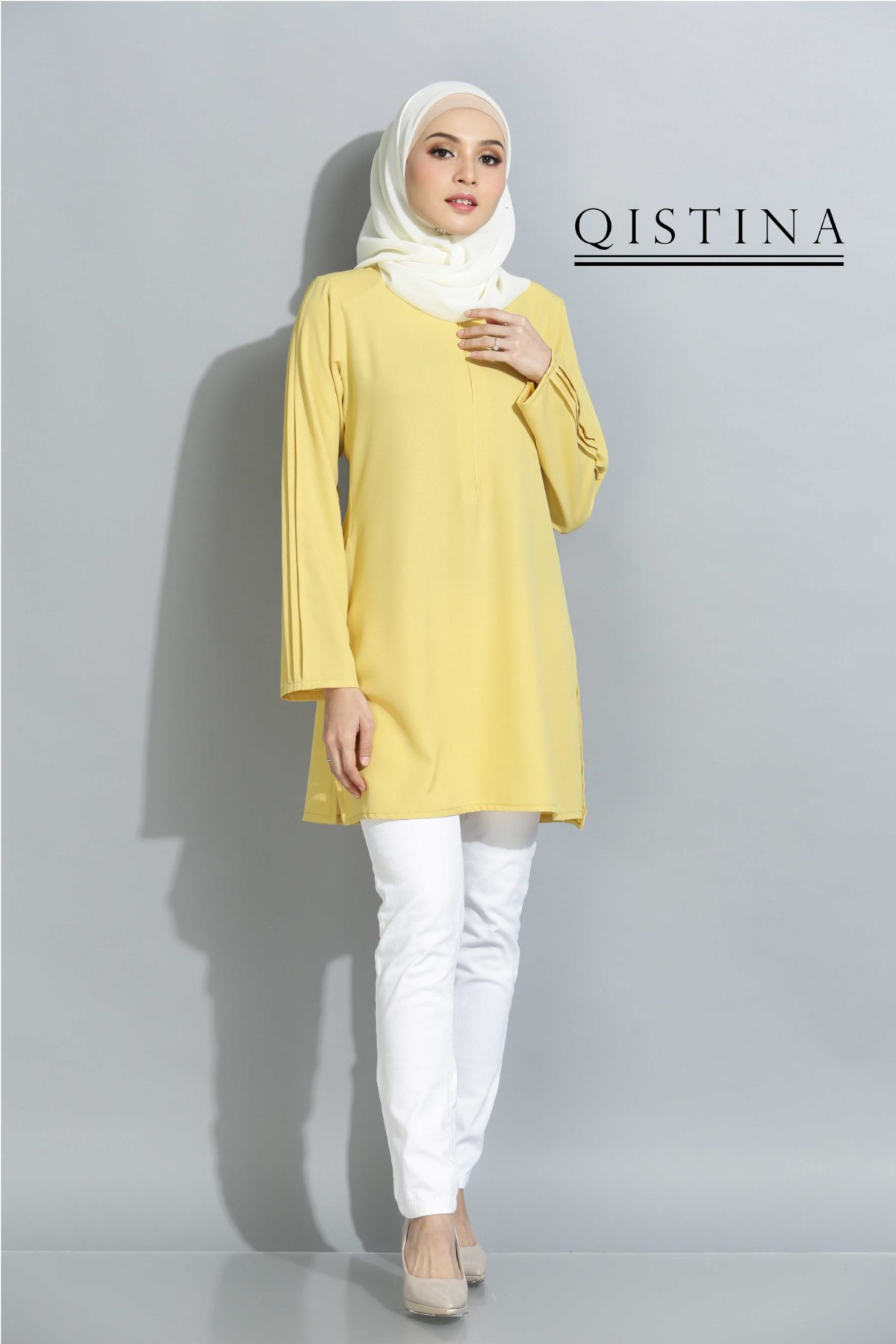 Qistina  Soft Yellow