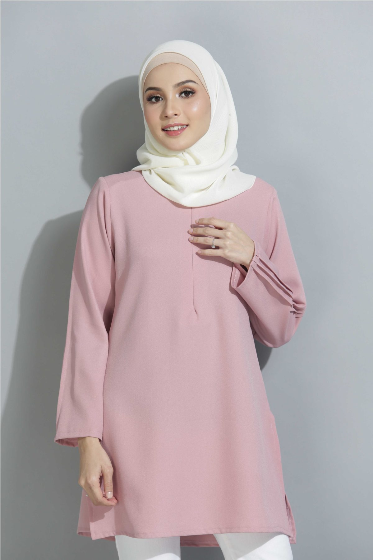 Qistina Dusty Pink