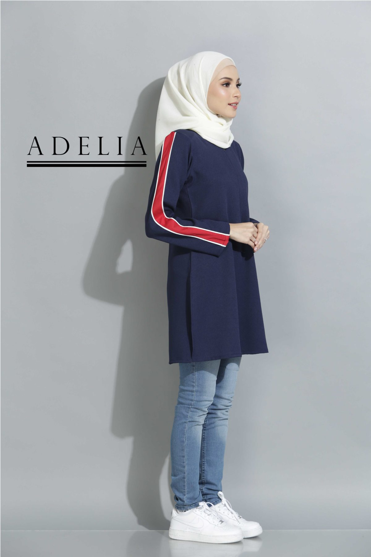 Adelia Navy Blue