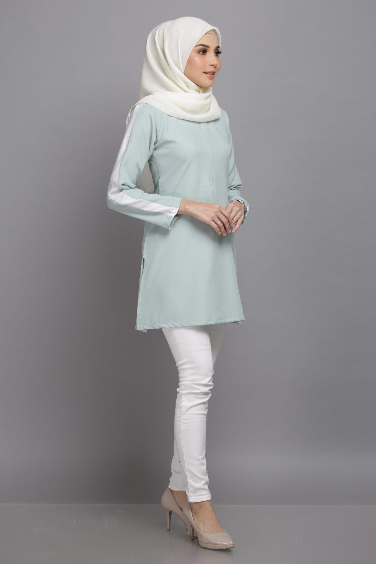 Adelia Pastel Mint Green