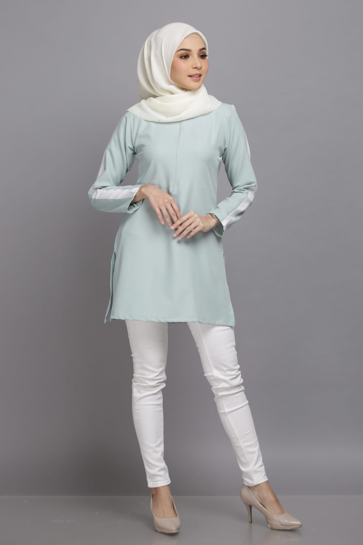 Adelia Pastel Mint Green