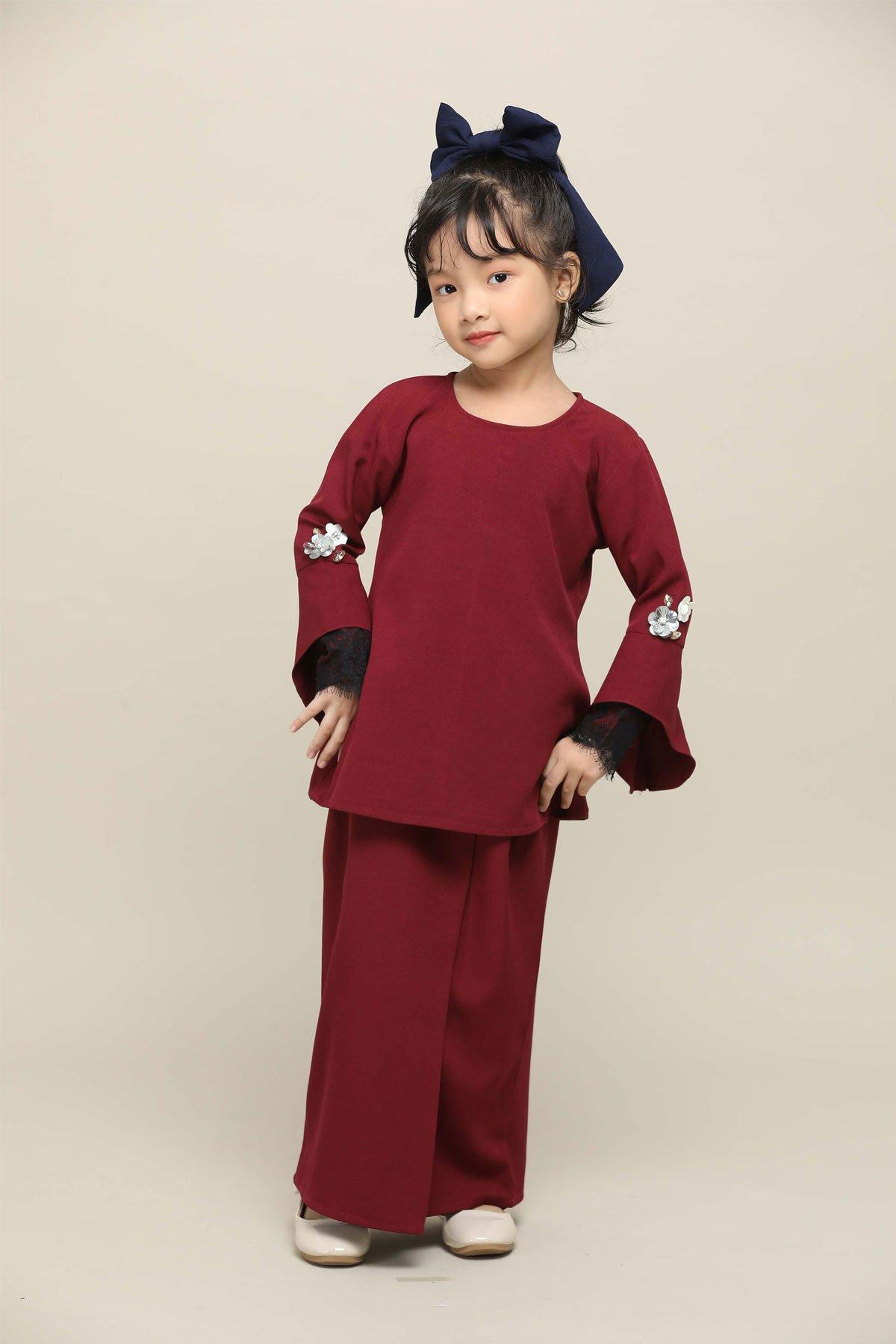Kurik Kundi Kids Heart Maroon