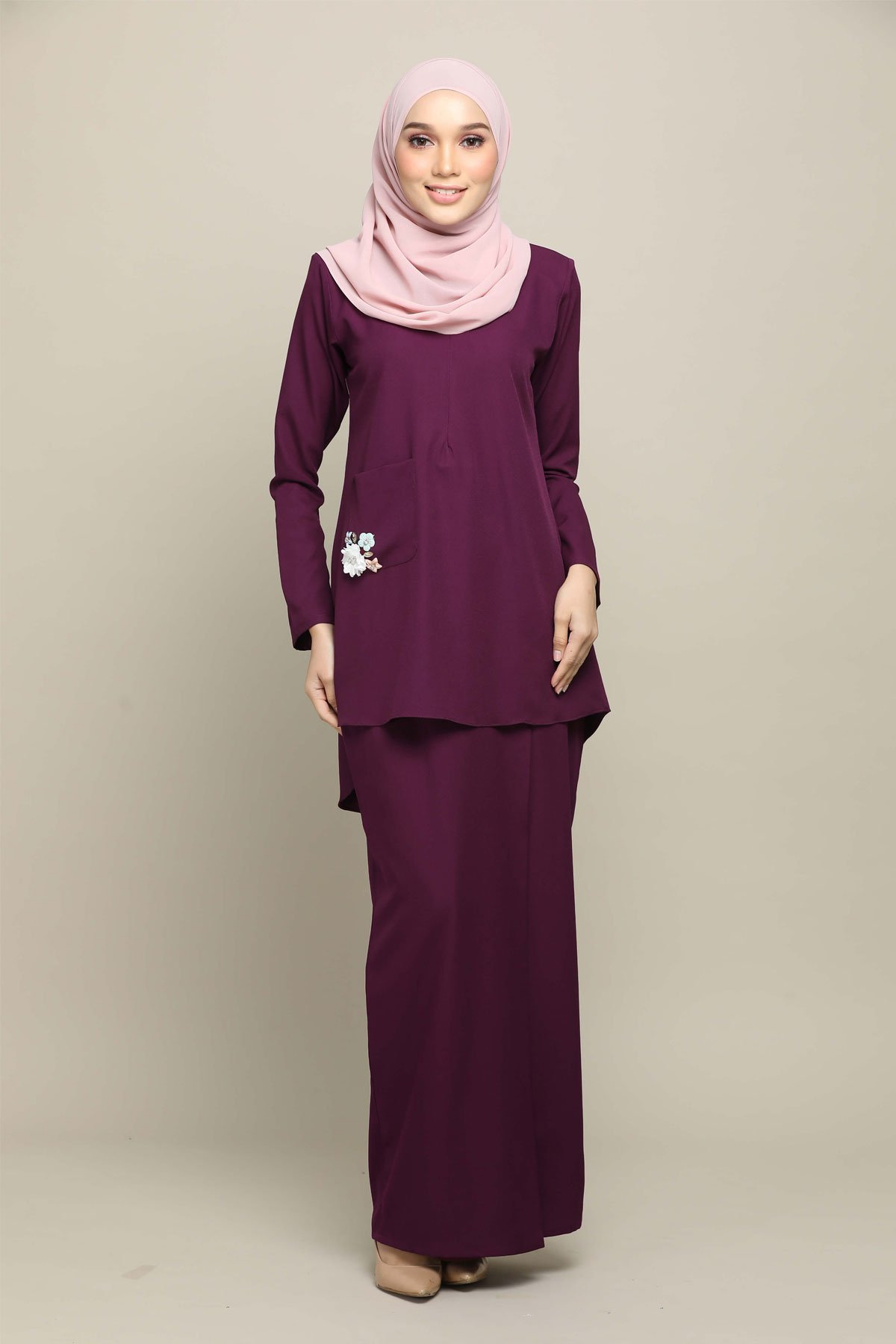 Sri Mersing Dark Purple