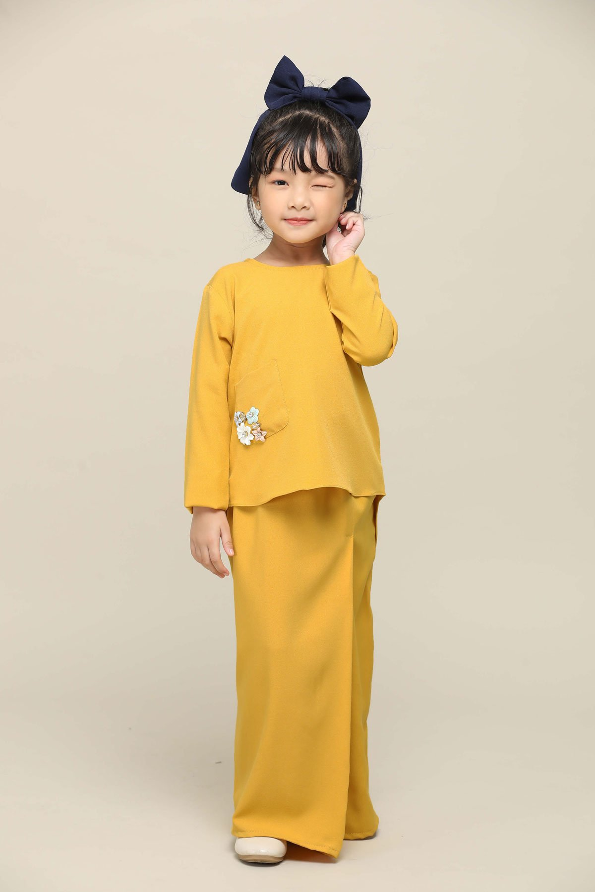 Sri Mersing Kids Mustard Yellow