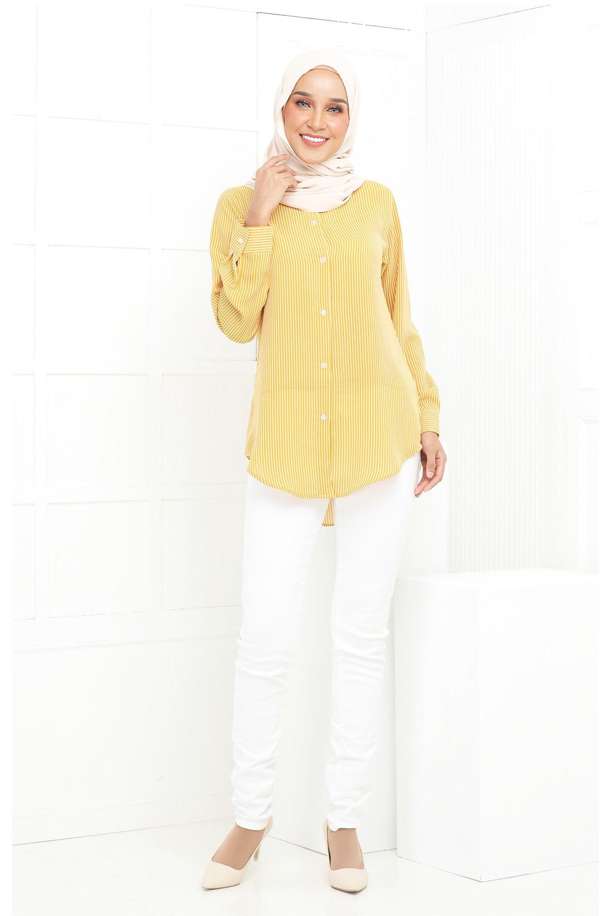 Wardina Yellow Stripe