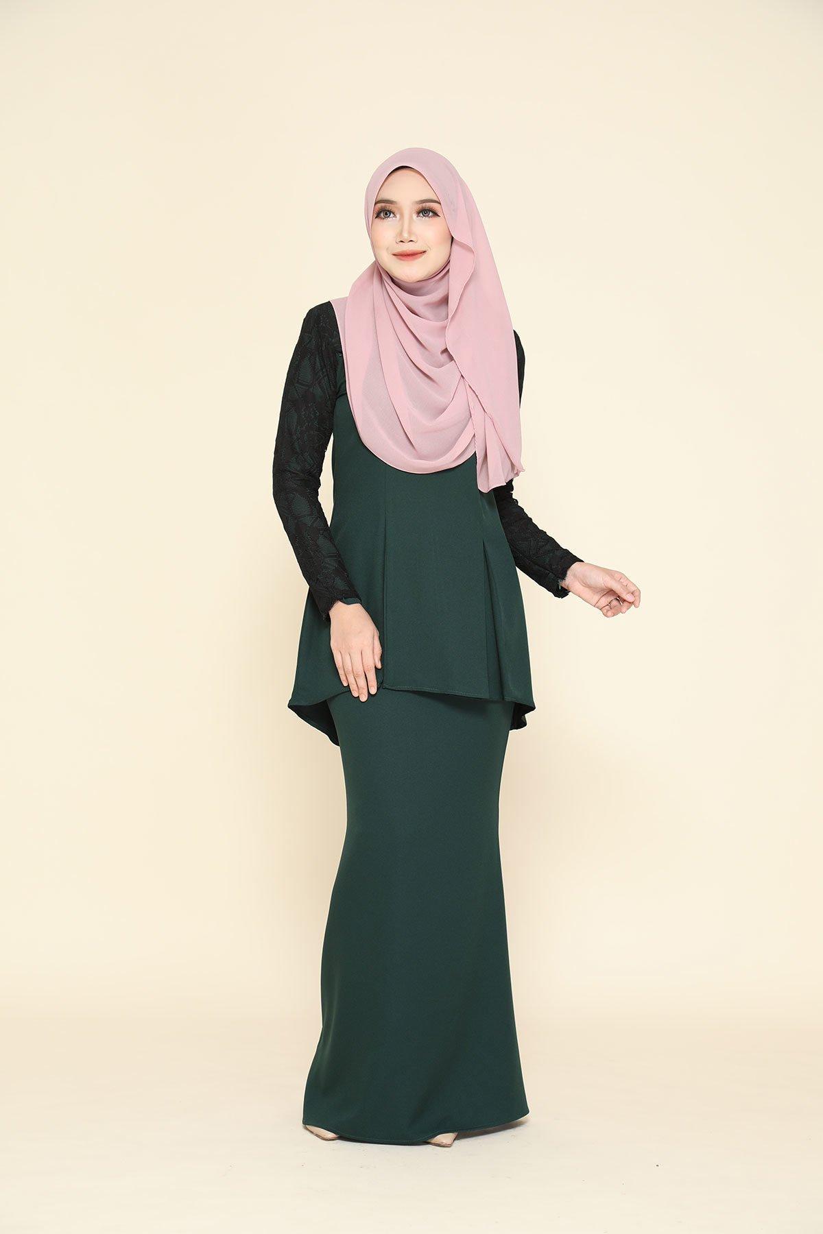 Kurung Zahraa Emerald