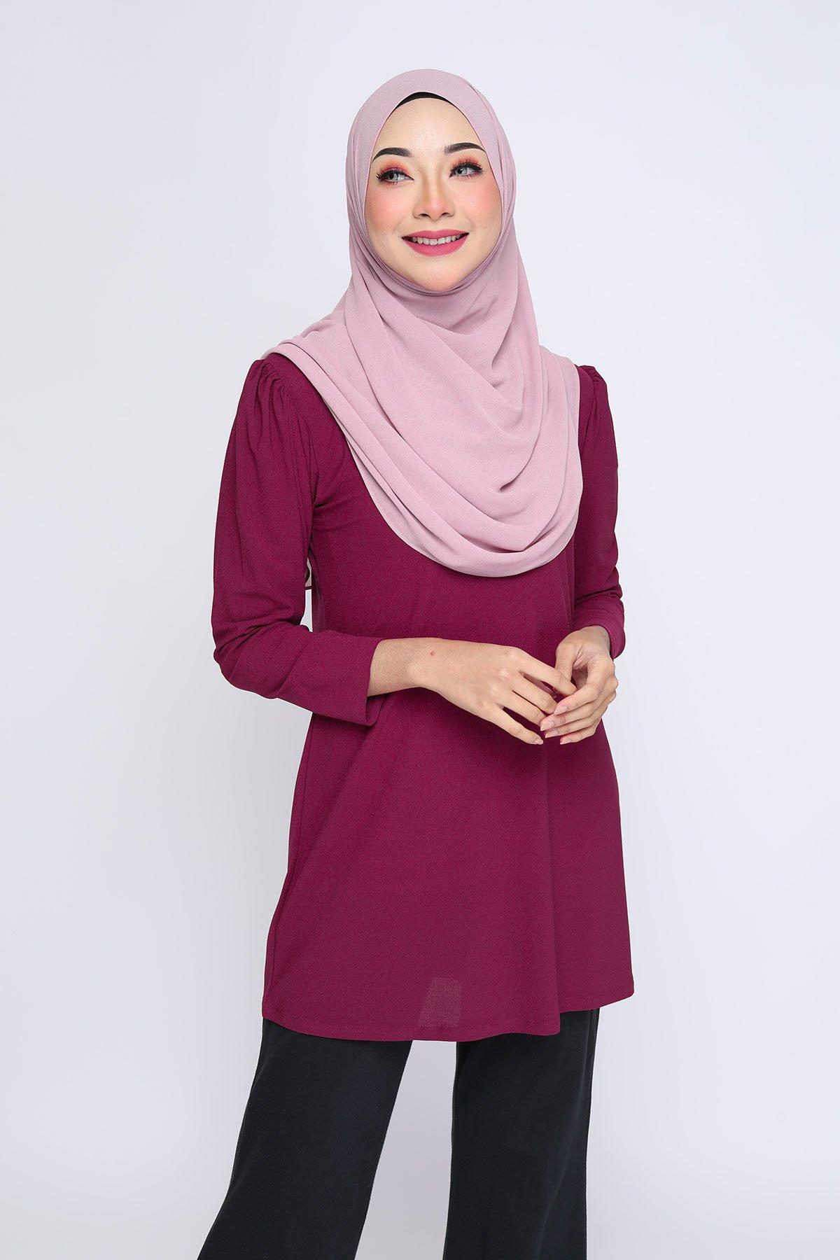 Aisyah Burgundy