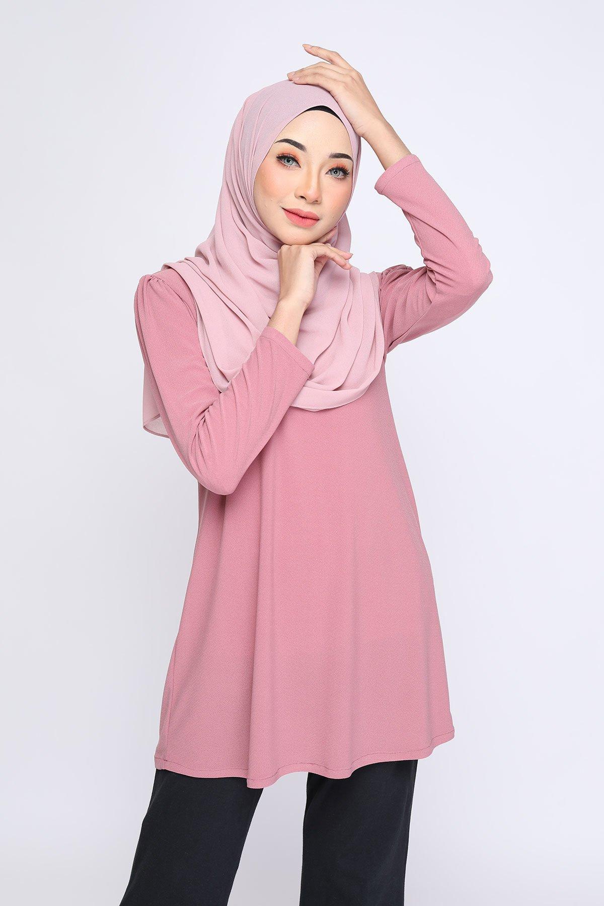 Aisyah Dusty Light Pink