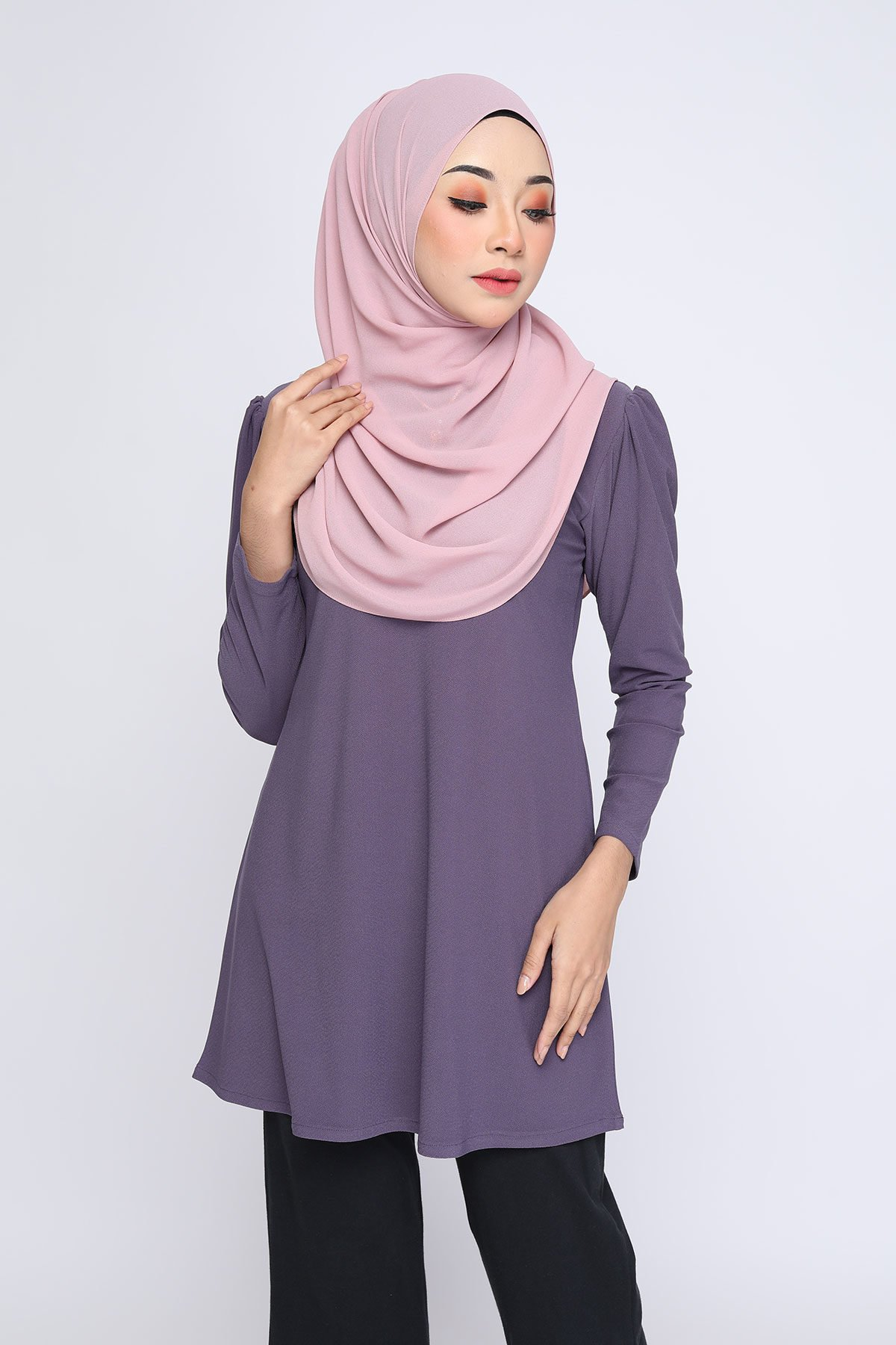 Aisyah Dusty Purple