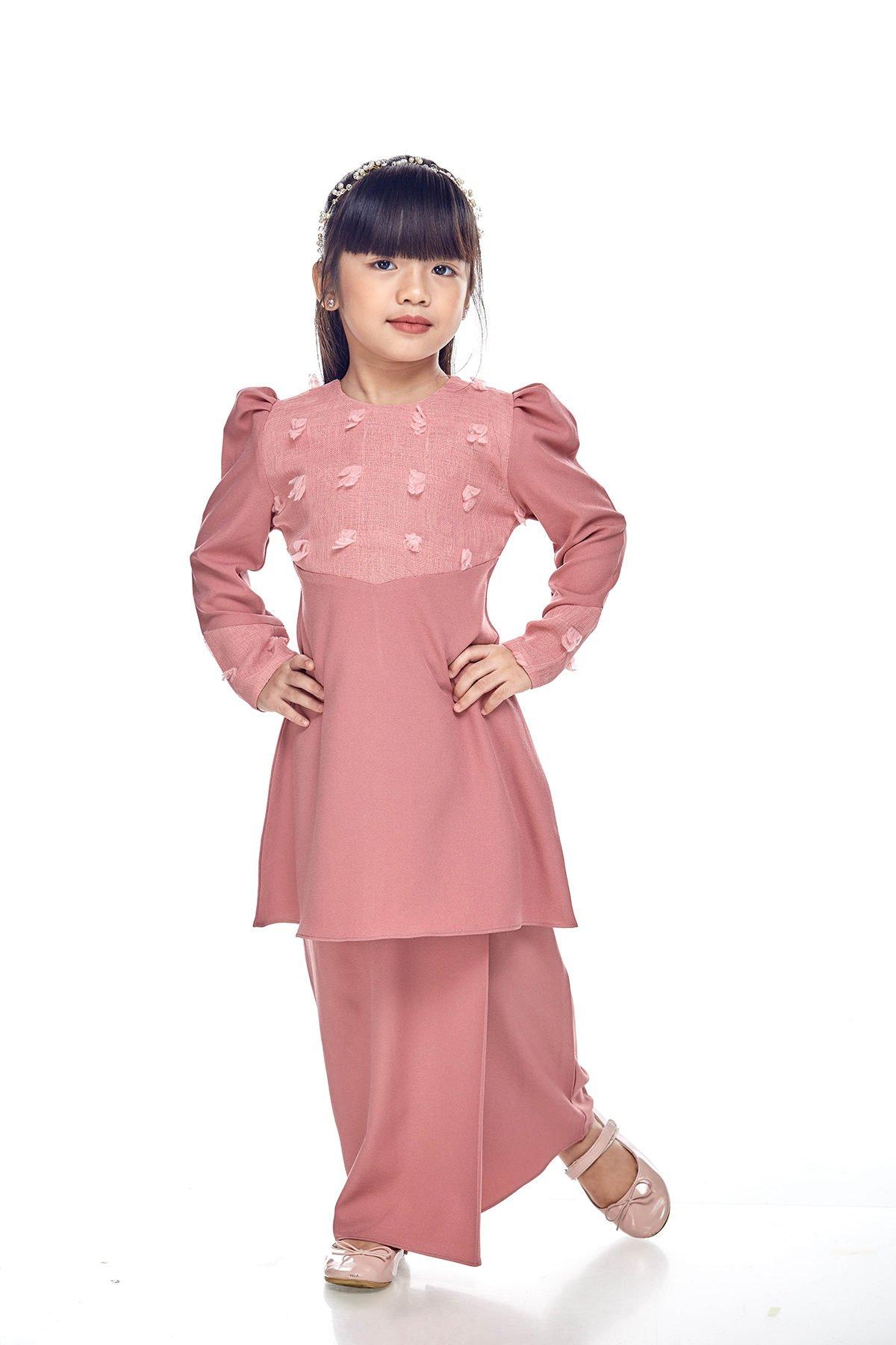 Riau Mulan Kids Dusty Pink