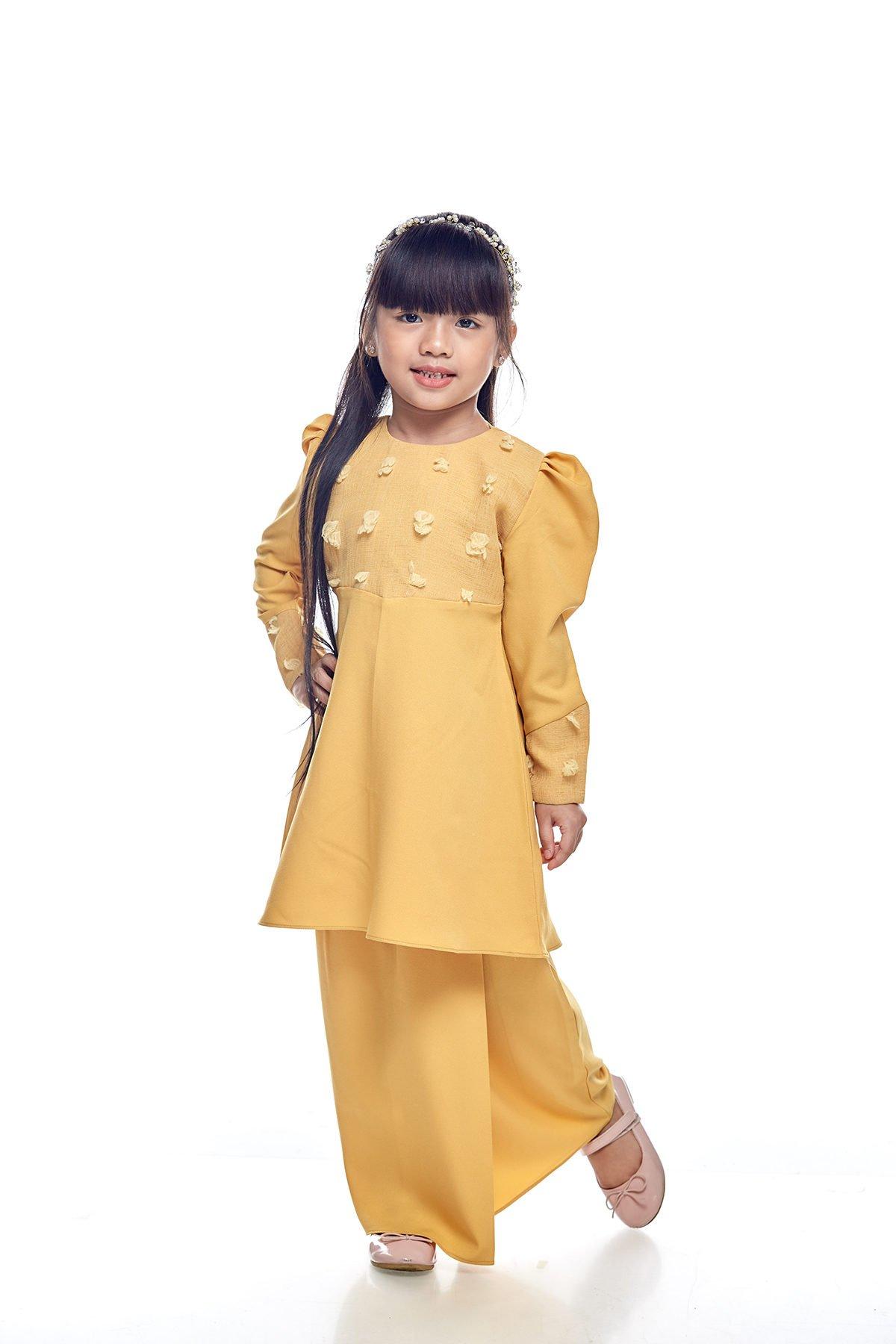 Riau Mulan Kids Mustard
