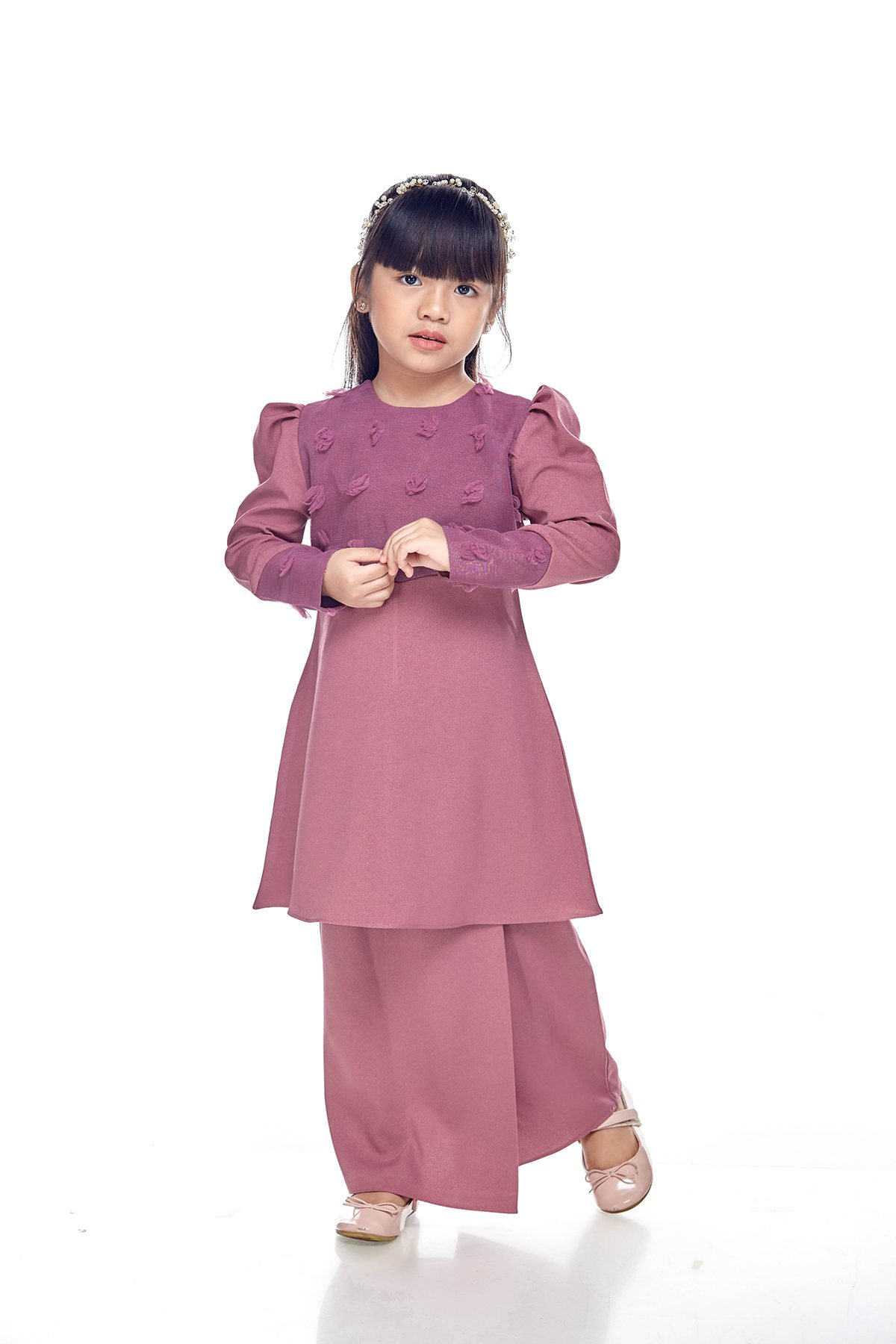 Riau Mulan Kids Plum